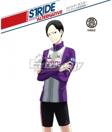 Prince of Stride Alternative Ichiba School Hikari Usui Athletic Wear Cosplay Costume