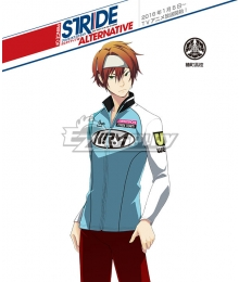 Prince of Stride Alternative Tsubakimachi School Renji Amenomori Athletic Wear Cosplay Costume