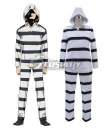 Prison School Purizun Sukuru Jouji Nezu Prison Uniforms Cosplay Costume