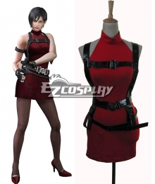 Resident Evil 2 Ada Wong Cosplay Costume