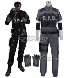 Resident Evil 4 RPD Leon Scott Kennedy Cosplay Costume