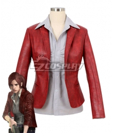 Resident Evil 6: The Final Chapter Claire Redfield Coat Shirt Cosplay Costume