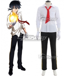 Akashic Records of Bastard Magic Instructor Rokudenashi Majutsu Koushi to Akashic Records Glenn Radars Cosplay Costume - School Uniform