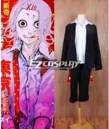 Tokyo Ghoul Suzuya Juzo Cosplay Costume