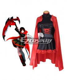 RWBY Leader of Team RWBY Ruby Rose Cosplay Costume