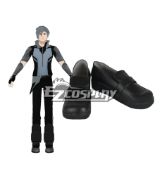 RWBY Mercury Black Merc Black Cosplay Shoes