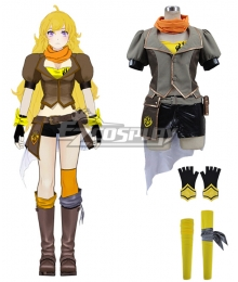RWBY Yellow Trailer  Yang Xiao Long Uniform Cosplay Costume