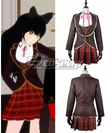 RWBY Ruby Weiss Blake Yang School Uniforms Cosplay Costume