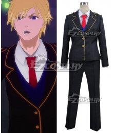 RWBY Jaune Arc Man School Uniform Cosplay Costume
