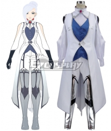 RWBY Winter Schnee Specialist Ice Queen Cosplay Costume