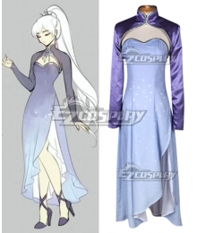RWBY Season 4 Weiss Schnee Timeskip Long Cosplay Costume