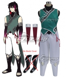 RWBY Volume 4 Lie Ren Cosplay Costume - C Edition