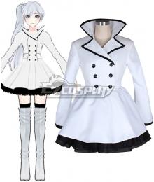 RWBY Weiss Schnee White Cosplay Costume