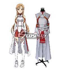Sword Art Online SAO Sodo Ato Onrain Knights of the Blood Lambent Light Yuuki Asuna Yuki Asuna Asuna Yuki Cosplay Costume