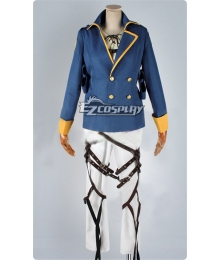 Attack on Titan Shingeki no Kyojin The Recon Corp Eren Jager Wings of Counterattack Online Cosplay Suit Cosplay Costume With 2 Badges