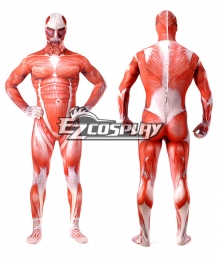 Attack on Titan Shingeki no Kyojin Bertholdt Hoover Bertolt Huber Colossal Titan Cosplay Costume