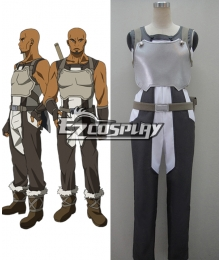 Sword Art Online Agil Cosplay Costume