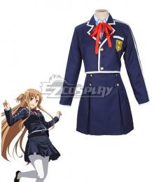 Sword Art Online ALfheim Online SAO ALO Yuuki Asuna School Uniform Cosplay Costume