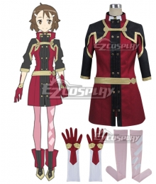 Sword Art Online Ordinal Scale Lisbeth Rika Shinozaki Movie Cosplay Costume