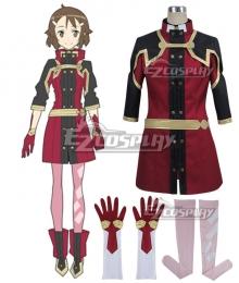Sword Art Online Ordinal Scale Lisbeth Rika Shinozaki Movie Cosplay Costume