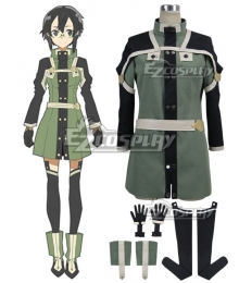 Sword Art Online Ordinal Scale Asada Shino Sinon Movie Cosplay Costume