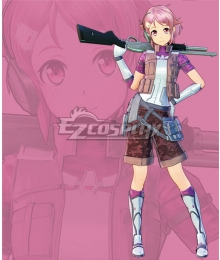 Sword Art Online: Fatal Bullet Rika Shinozaki Lisbeth Cosplay Costume