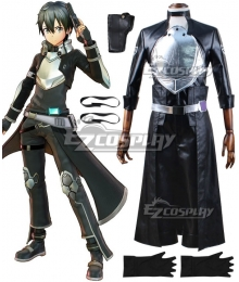 Sword Art Online: Fatal Bullet Kirigaya Kazuto Kirito Cosplay Costume - New Edition