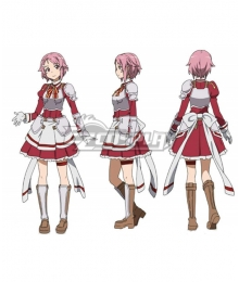 Sword Art Online Code Register Lisbeth Rika Shinozak Cosplay Costume