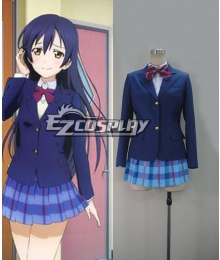 Love Live! Lovelive! Honoka Kousaka Uniform Cosplay Costume-3 Bowknots are Optional