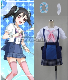 lovelive! Love Live Yazawa Nico Navy Unawakened Sailor Cosplay Costume