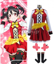 Love Live! SR The School Idol Movie Nico Yazawa Cosplay Costume