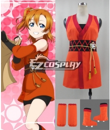 Love Live! Unawakened Ninja Shinobi Kousaka Honoka Cosplay Costume