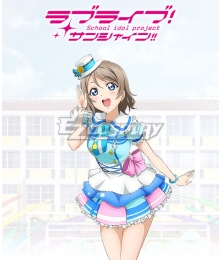 Love Live! Sunshine!! You Watanabe Cosplay Costume - Simple version