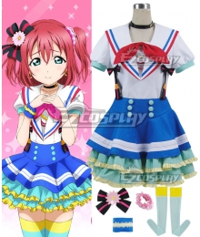 Love Live! Sunshine!! Ruby Kurosawa Blue Cosplay Costume