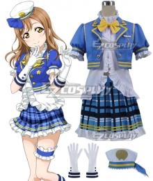 Love Live! Sunshine!! Aqours Hanamaru Kunikida Navy Cosplay Costume