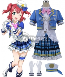 Love Live! Sunshine!! Aqours Ruby Kurosawa Navy Cosplay Costume