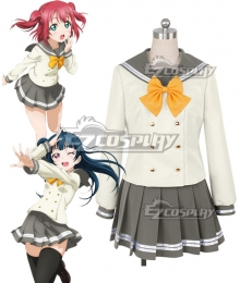 Love Live! Sunshine!! Aqours Ruby Kurosawa Tsushima Yoshiko School Uniform Cosplay Costume
