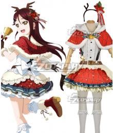 Love Live! Sunshine!! Aqours Riko Sakurauchi Christmas Ver. Cosplay Costume