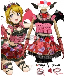 Love Live! Lovelive! Halloween Hanayo Koizumi Little Devil Ver. Cosplay Costume
