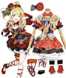 Love Live! Lovelive! Transformed Idol Eli Ayase Cosplay Costume