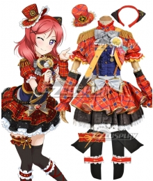 Love Live! Lovelive! Transformed Idol Maki Nishikino Cosplay Costume
