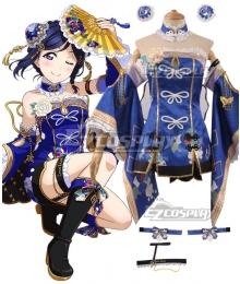 Love Live! Sunshine!! China Dress Ver Kanan Matsuura Cosplay Costume