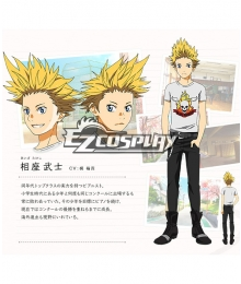 Your Lie in April  Takeshi Aiza Cosplay Costume
