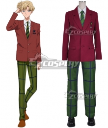 Sailor Moon Haruka Tenou School Uniform Cosplay Costume