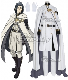 Seraph of the End Vampire Reign Owari no Serafu Rene Simm Cosplay Costume