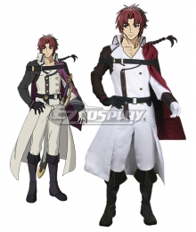 Seraph of the End Owari no Serafu Vampire Reign Vampire Reign Owari no Serafu Crowley Eusford Cosplay Costume