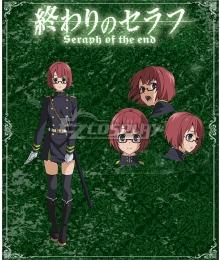 Seraph of the End Battle in Nagoya Owari no Serafu Vampire Reign Yayoi Endo Cosplay Costume