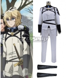 Seraph of the End Owari no Serafu Season 2 Mikaela Hyakuya White Cosplay Costume