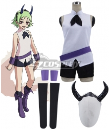 Seraph of the End Owari no Serafu Lit King of the Demon Box Kiseki-O Cosplay Costume