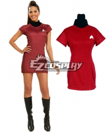 Star Trek Movie 2009 Red Dress Deluxe Adult Costume